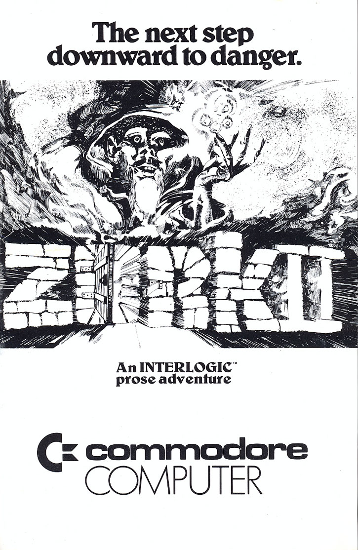c64sets com : Zork II: The Wizard of Frobozz manual front cover